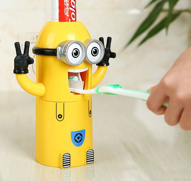 Minions Automatic Toothpaste Dispenser Minion Bedroom