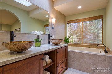 Walnut Creek Ca Yoko Oda Interior Design Zen Bathroom