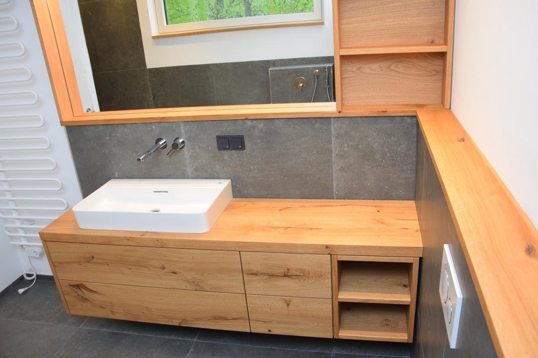 Waschtisch Eiche Astig Waschtisch Badezimmerideen Badezimmer Unterschrank