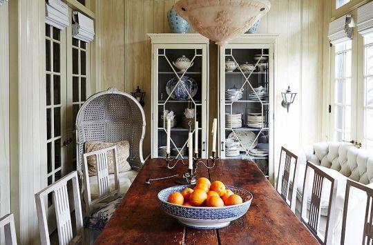 Darryl Carter ~ his dining room | Designer: Darryl Carter ...