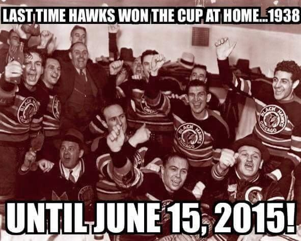 Chicago Blackhawks!!!!!!2015 Stanley Cup Champions. 3 times in 6 years.  GO HAWKS!!!!!
