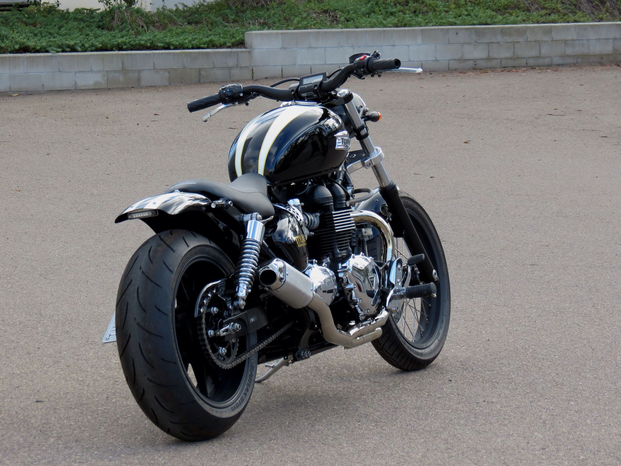 triumph america re imagined mule motorcycles triumph pinterest motorr der. Black Bedroom Furniture Sets. Home Design Ideas