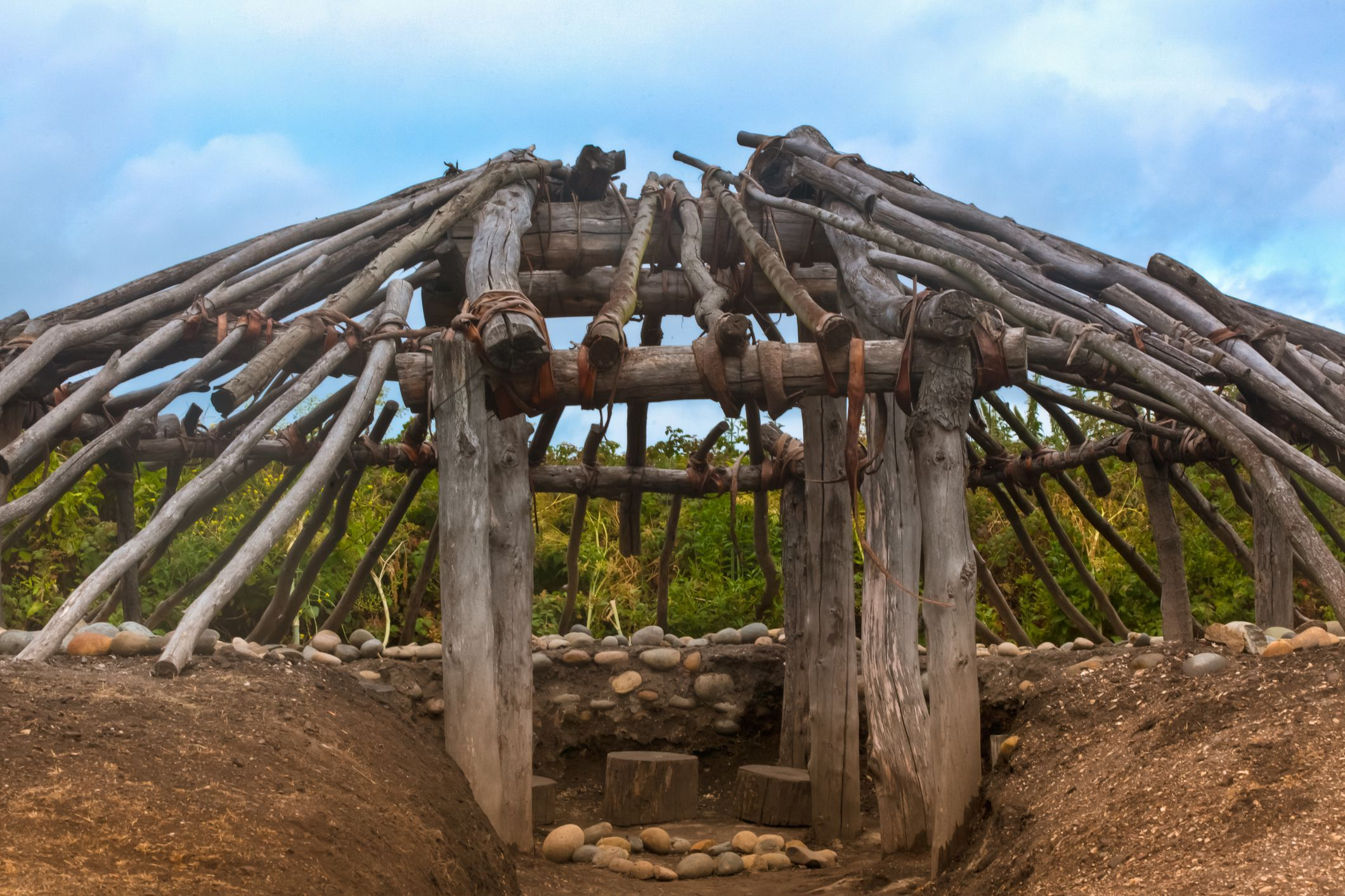 Pit Houses What Societies Built Their Homes Partly Underground