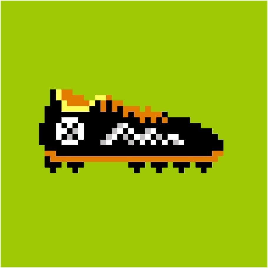 Coloriage Et Illustration Dune Chaussure De Football En