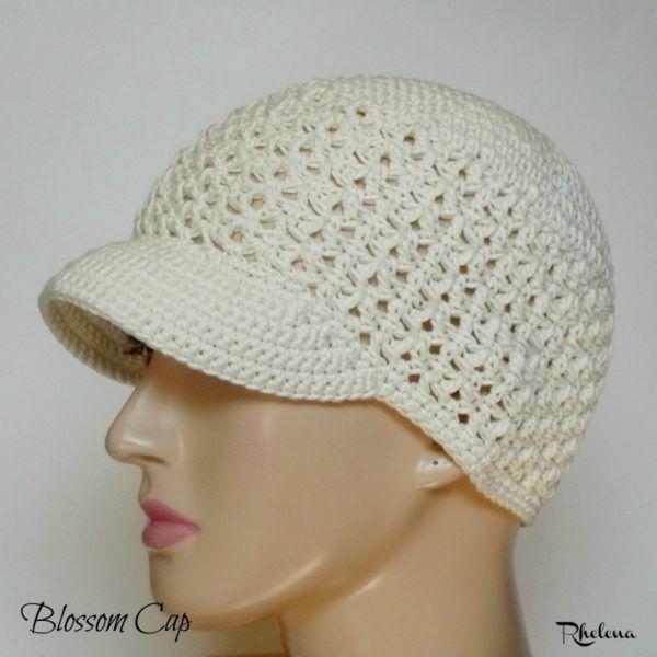 Blossom Cap | Gorros, Lana y Gorro tejido