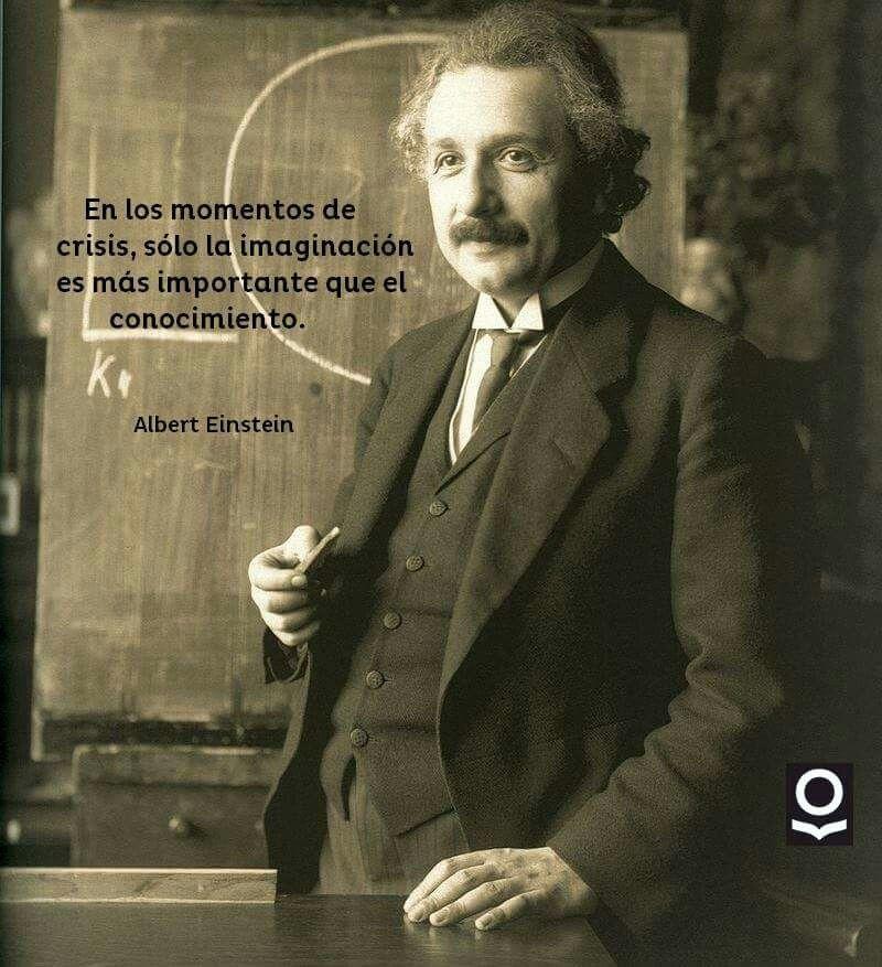 La imaginación. Einstein.