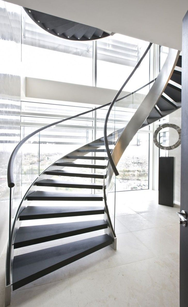 Image Of Aluminum Or Steel Metal Spiral Staircase   Http://www.designsoak