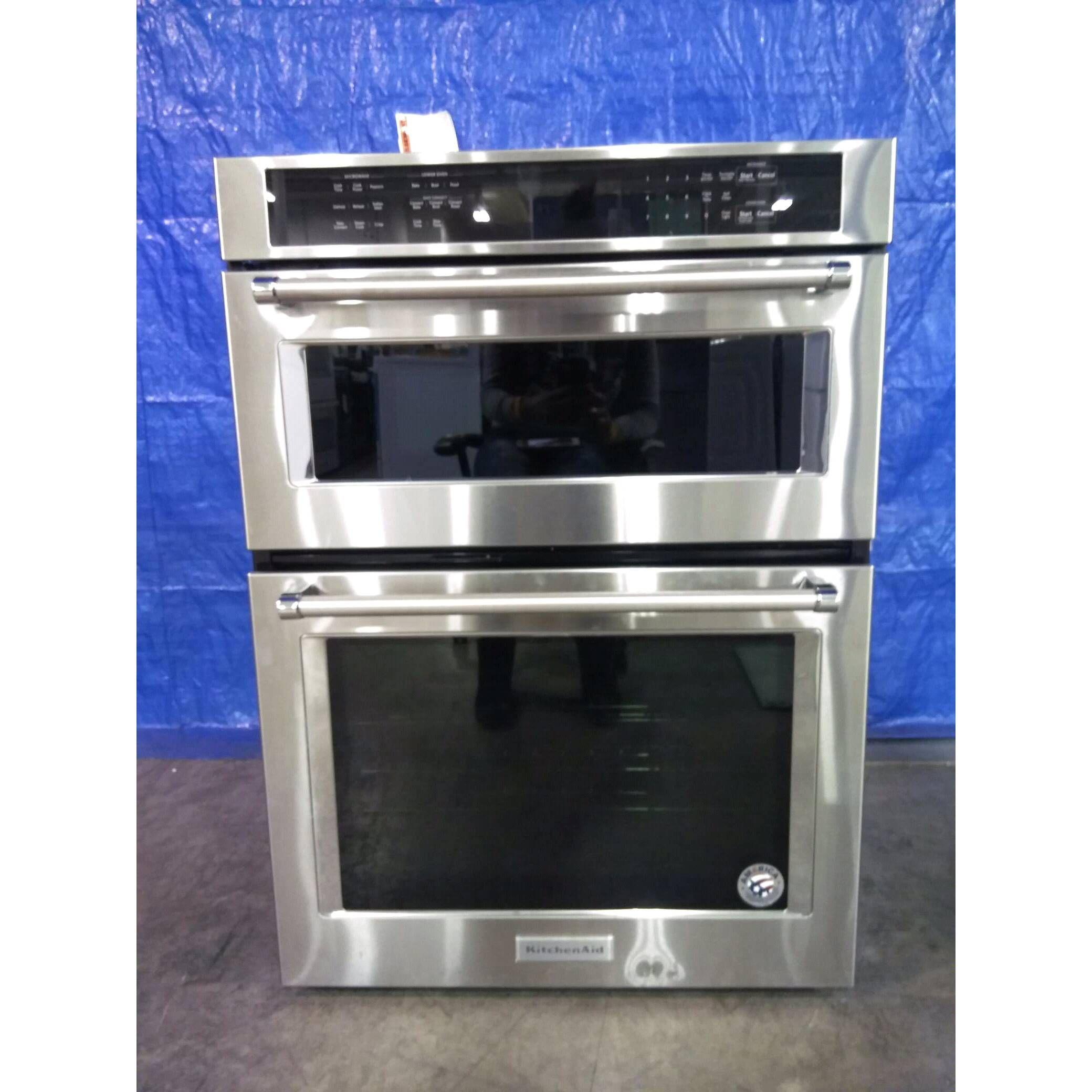 Kitchenaid koce500ess 30 combination wall oven w even