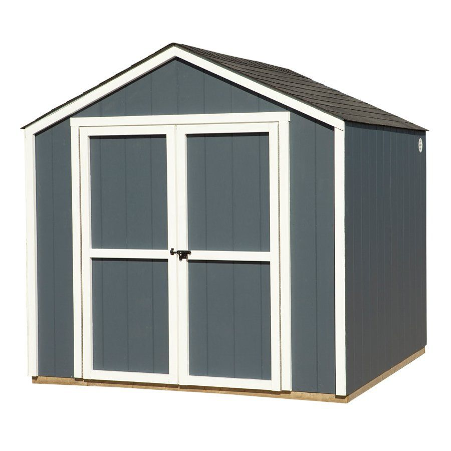 8ft x 8ft Gable Wood Storage Shed - Loweu0027s Canada  sc 1 st  Pinterest & 8ft x 8ft Gable Wood Storage Shed - Loweu0027s Canada | outdoor living ...