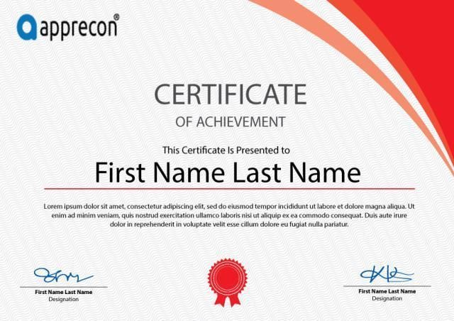 Certificate Template Free Download Certificate Templates