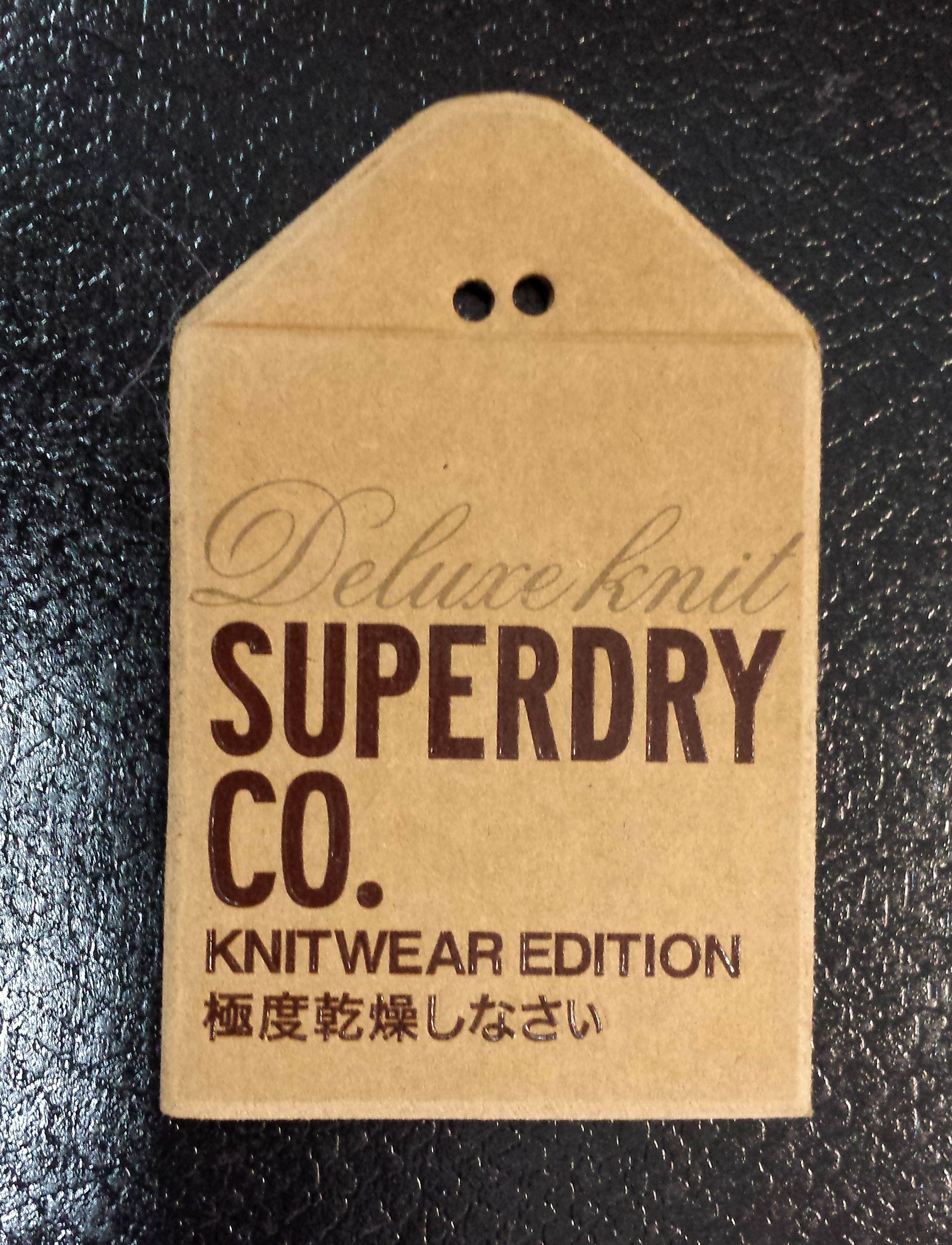 SUPERDRY CO. #hangtag | Hang tags | Etiquetas