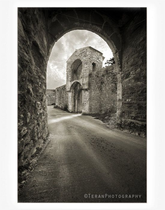 Travel Photography La Spoleto Italy Etruscan by TeranPhotography, $35.00