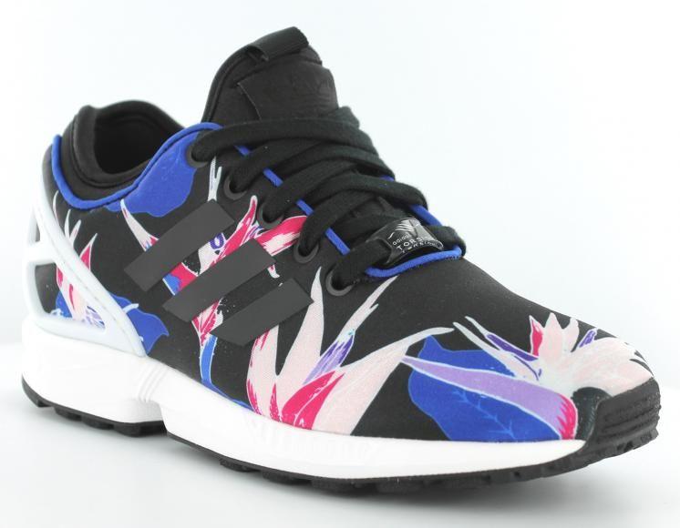 adidas zx flux barcelona floral pas cher