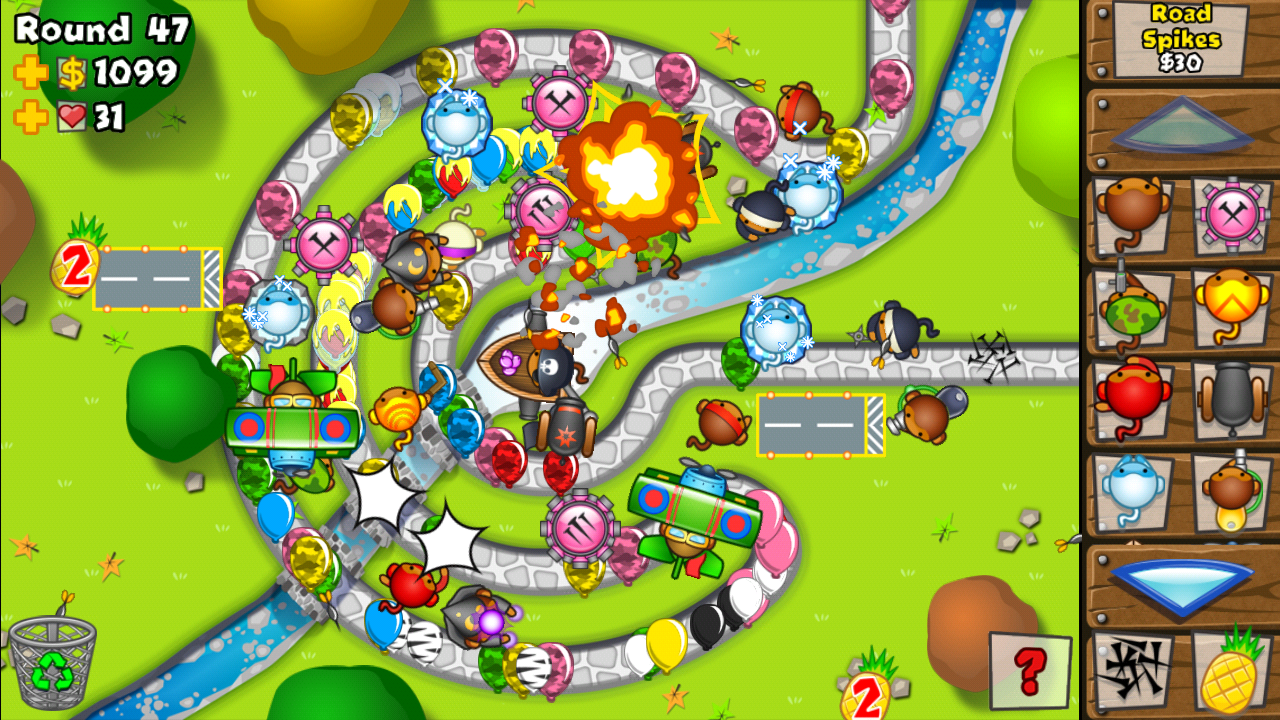 Bloons Tower Defense 3 Flash Game Tower Defense With