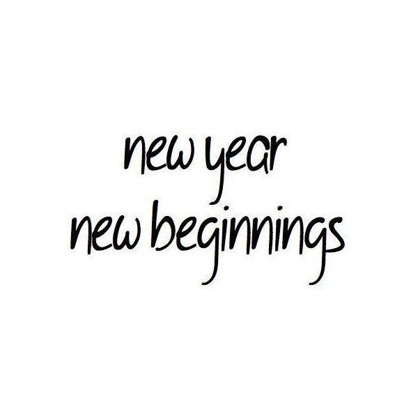 beginnings black and white new new year text photoromo
