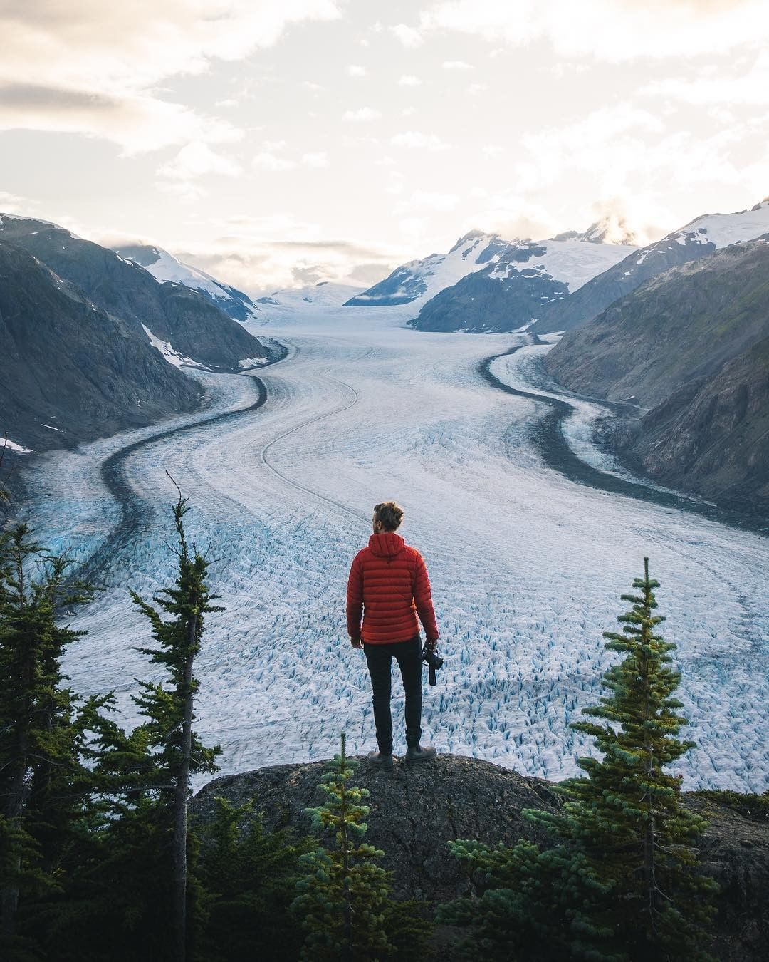 """Photo of Destination British Columbia on Instagram: """"Just north of Stewart near the Alaskan border lies the fifth largest glacier in Canada—Salmon Glacier. Have you been? Photo by…"""""""