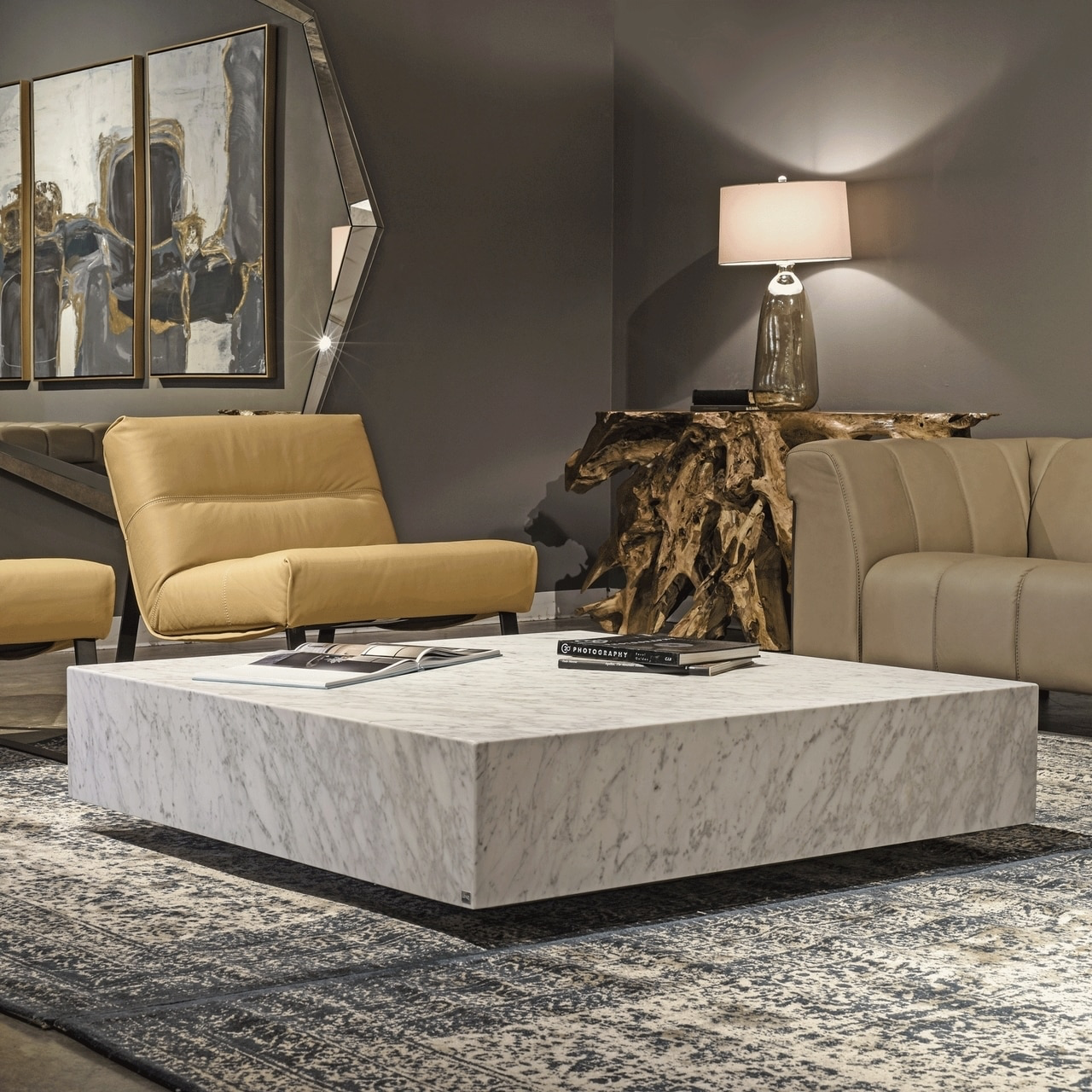 Monolith Cocktail Table Cocktail Tables Living Room Living Room Decor Modern Furniture [ 1280 x 1280 Pixel ]
