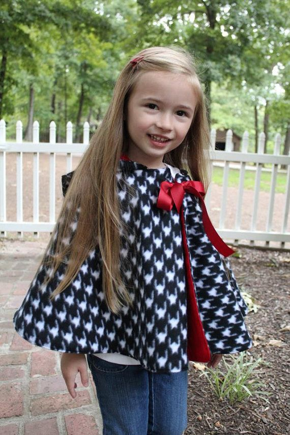 Cozy Hooded Cape for kids sewing pattern by SeaminglySmitten, $8.00 ...