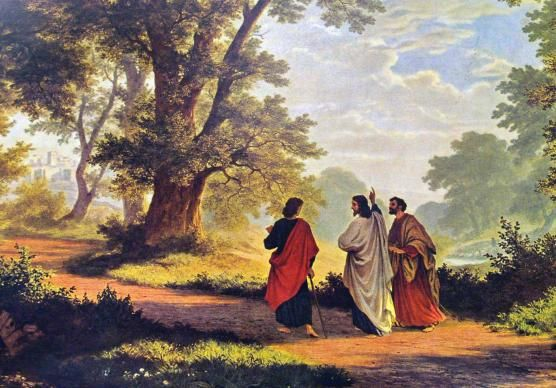 Image result for road to emmaus painting