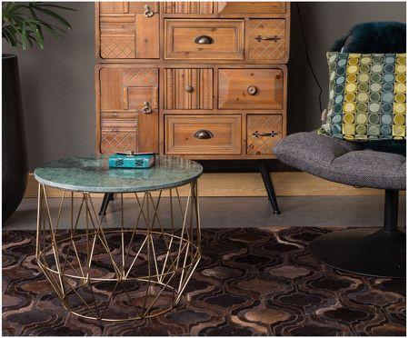 marmor couchtisch boss tischplatte gr n marmoriert beine messing couch tisch in 2018. Black Bedroom Furniture Sets. Home Design Ideas