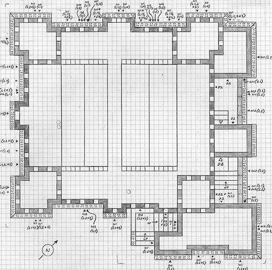 castle floor plan for Minecraft | Kids stuff | Pinterest | Minecraft ...
