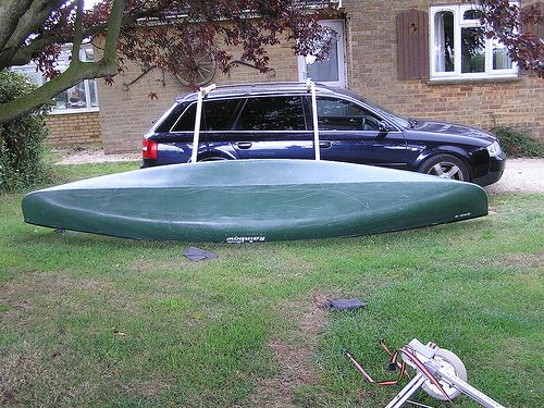 Canoe Roof Rack And One Man Loading System For Less Than 10