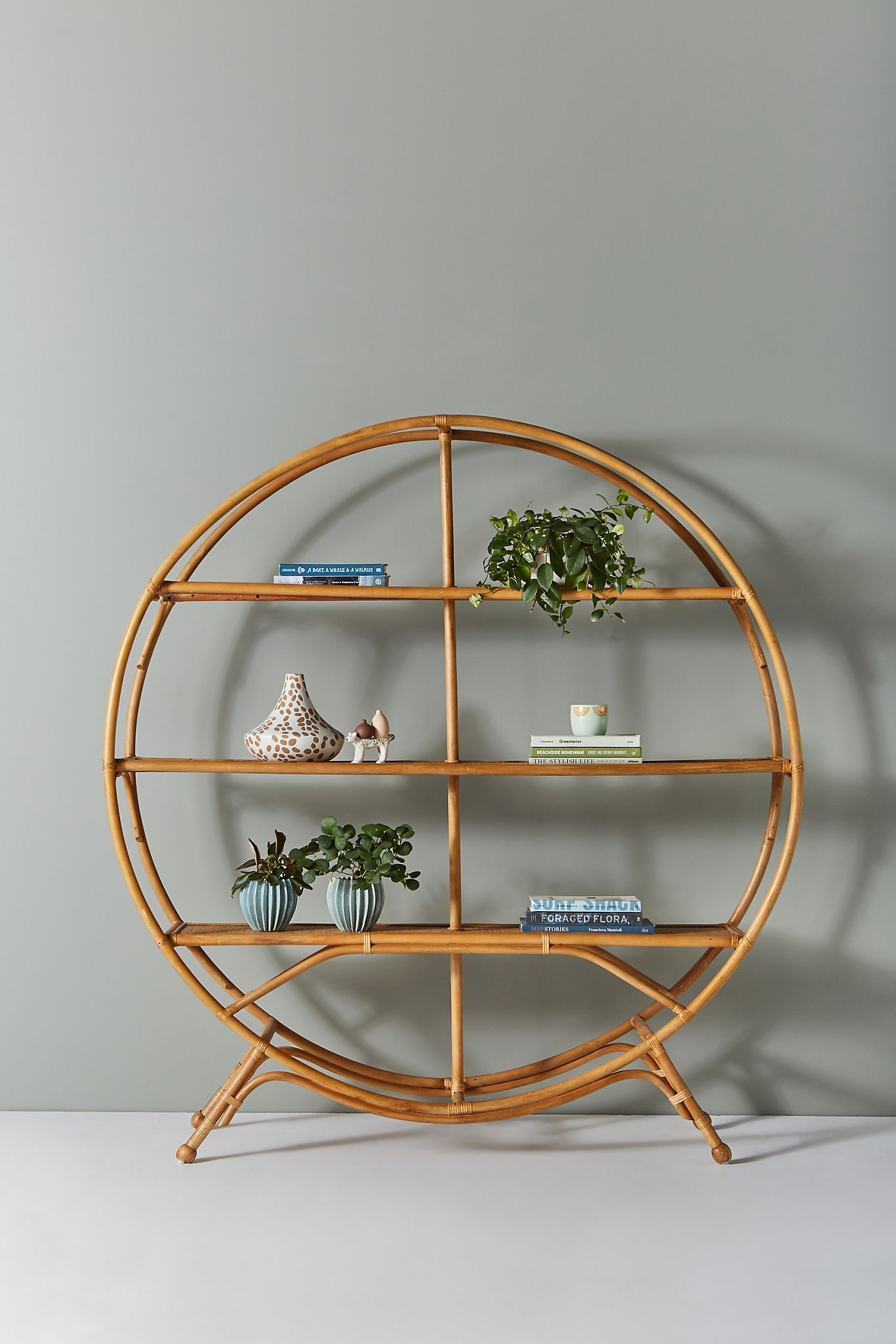 Irving Bookcase Anthropologie in 2020 Vintage home