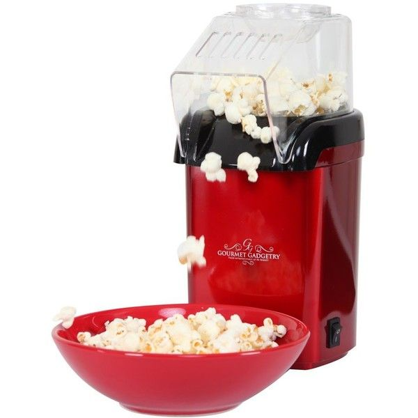 Gourmet Gadgetry Retro Popcorn Maker 43 Cad Liked On Polyvore Featuring Home Kitchen Dining Small Liances Food Air