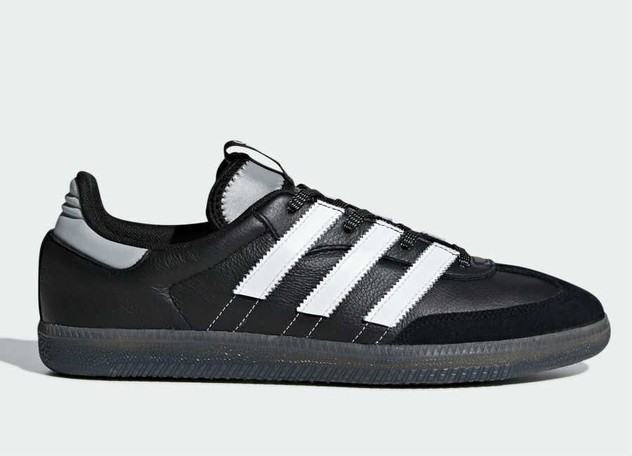 Adidas Samba OG MS Shoes Core Black Ftwr White Silver