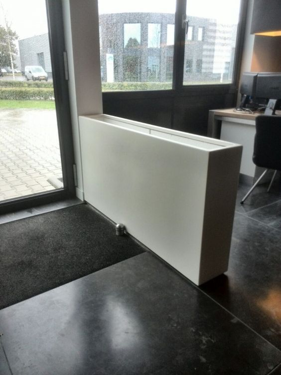 Polyester plantenbak 'Oblong' 150x25x80 cm