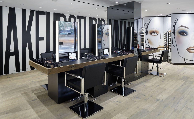 Quick Fix Mac Unveils Its First Makeup Studio In New York Makeup Studio Decor Makeup Studio Studio Decor