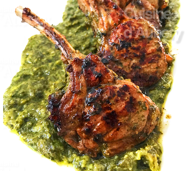 Ottolenghi S Marinated Rack Of Lamb With Cilantro And Honey