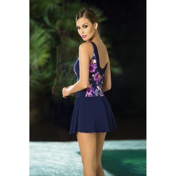 Kelinda Falda Enterizo Traje Con Vestido De Entero Bano 0wnZOPXN8k