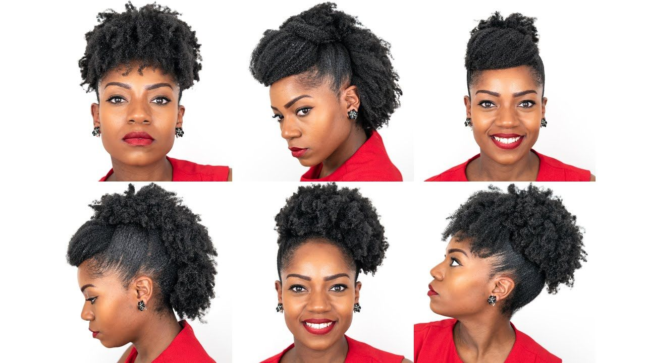 6 Natural Hairstyles For Medium Length Natural Hair Special Occasions 4b 4c Natural Hair Youtube Natural Hair Styles Hair Styles 4c Natural Hair