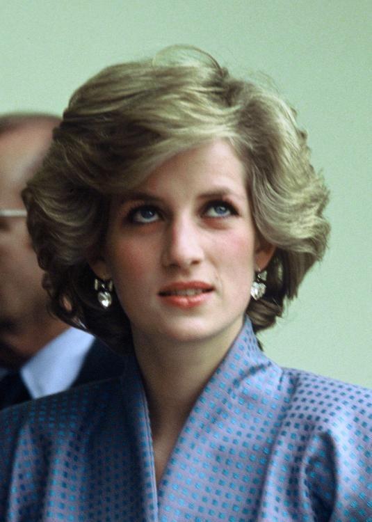 Neue Frisur Neuer Lebensabschnitt Lady Di Princess Diana