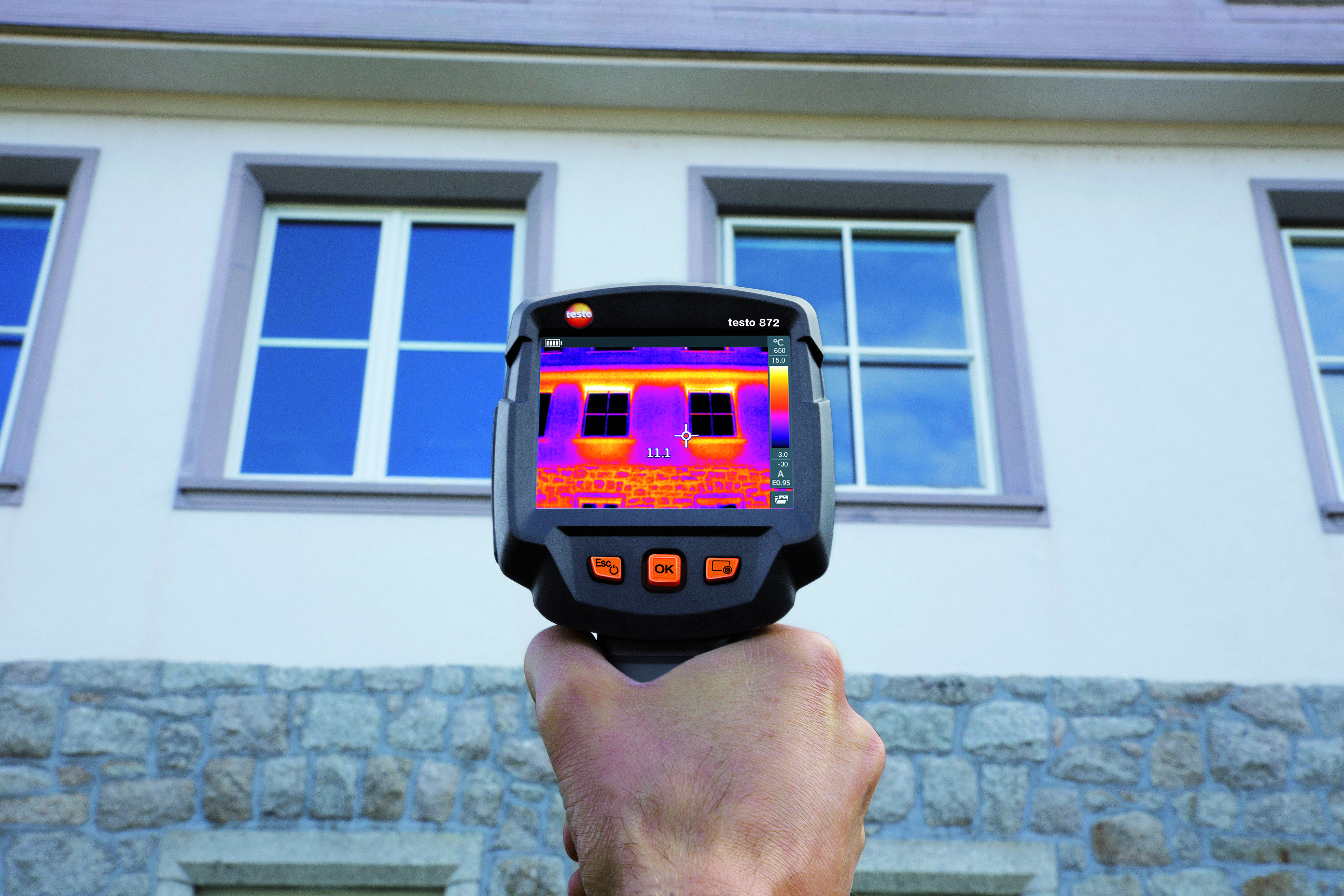 testo 872 Thermal Imaging Camera with App Part No. 0560