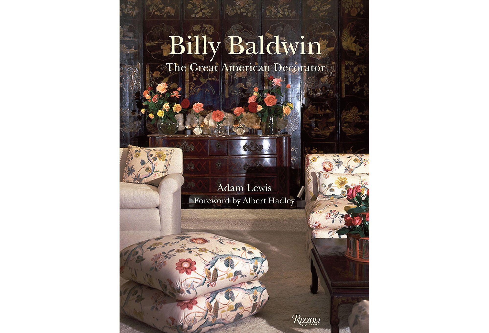 Billy baldwin interior design books adam lewis