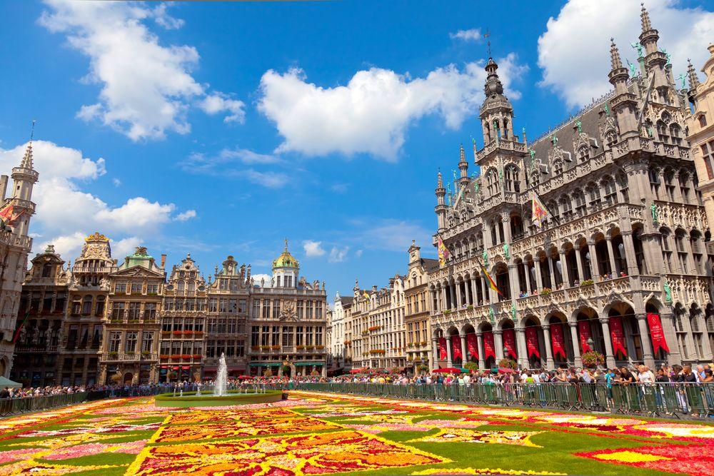 Grand-Place em Bruxelas, Bélgica.