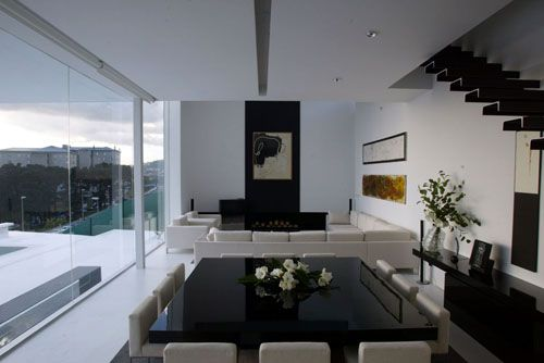 contrast rhythm in interior design