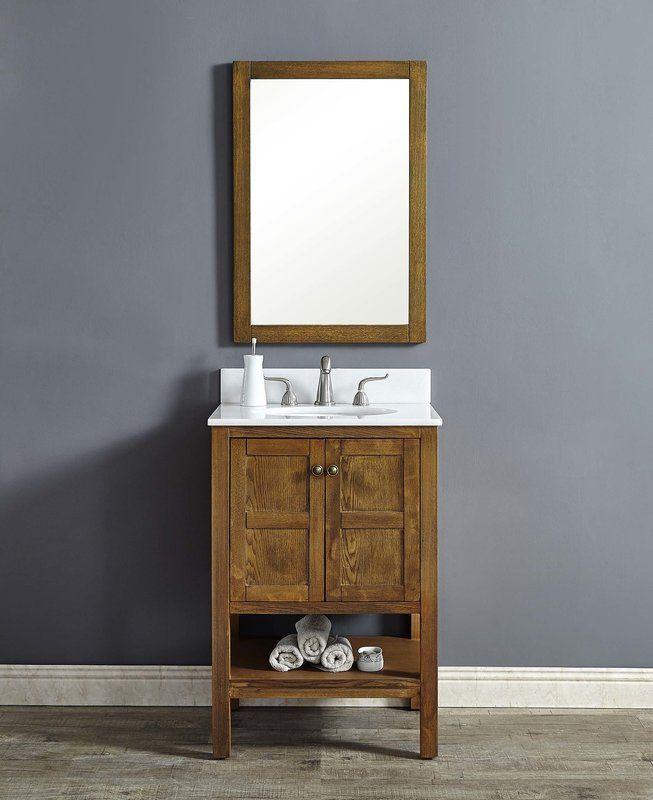 Aula 24 Single Bathroom Vanity Set In 2019 Bathroom