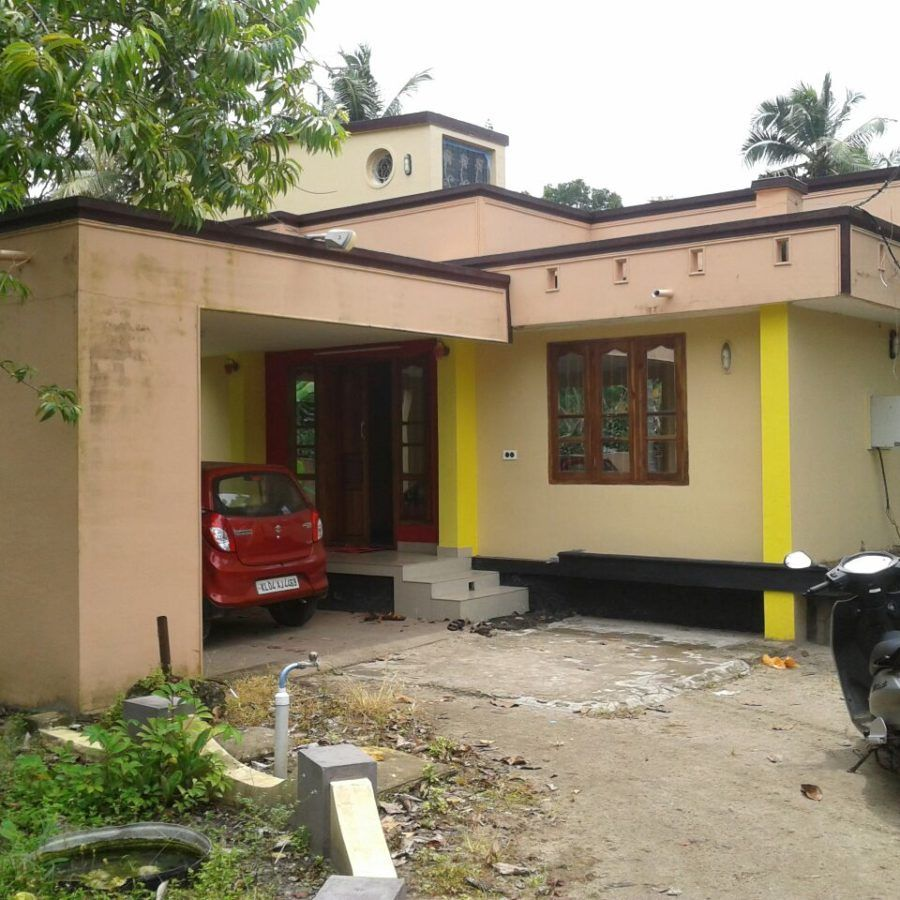 A 3 BHK House At Ambalapuzha Is For Sale On 24 Cents Of Land. Amenities