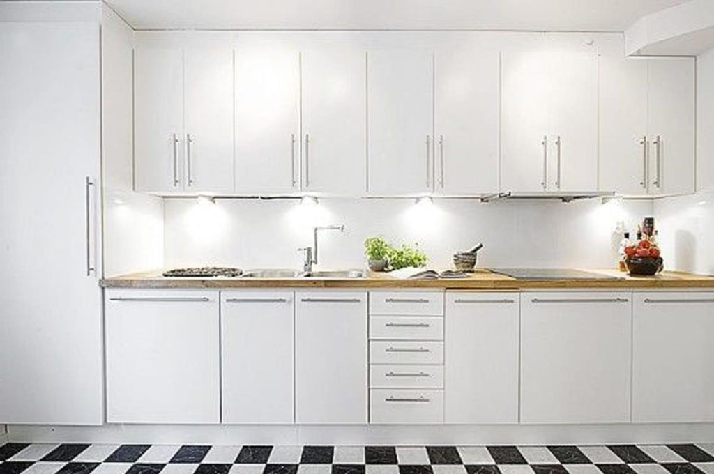White Modern Kitchen Cabinet Doors | Kitchens | Contemporary ...