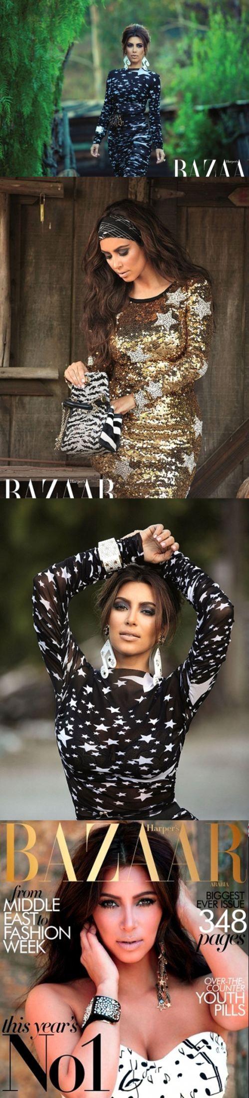 Kim Kardashian - Bazaar Magazine   The House of Beccaria~