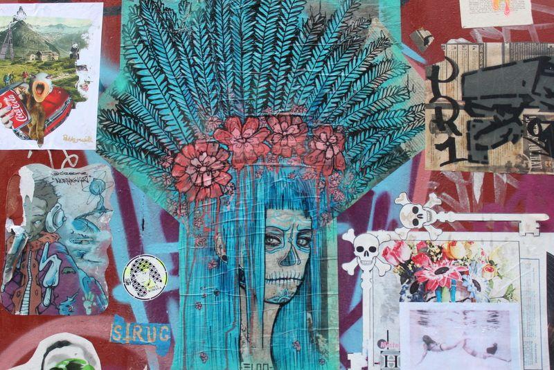 Streetart Pasteup London Brick Lane