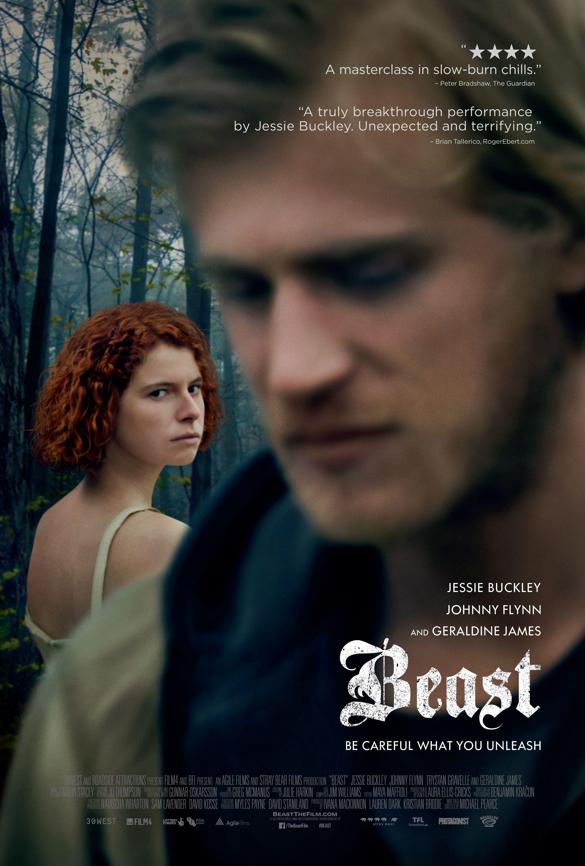 BEAST starring Jessie Buckley, Johnny Flynn & Geraldine