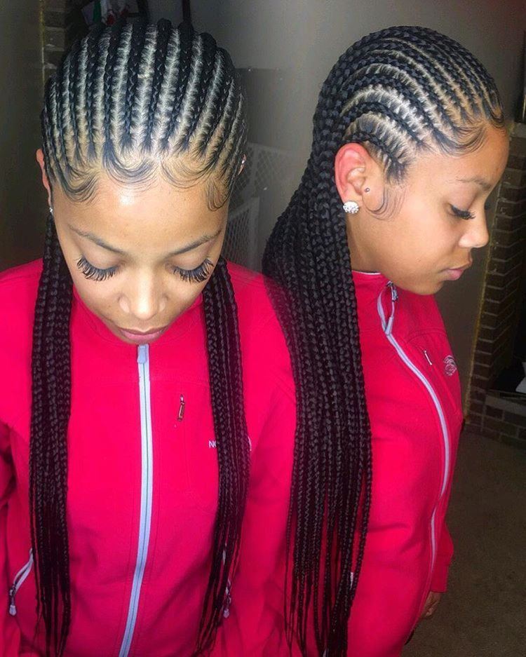 Stunningly Cute Ghana Braids Styles For 2020 With Images Sleek