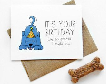 Birthday Card So Frickin Happy You Were Born By JulieAnnArt Kraft Envelopes Its Your