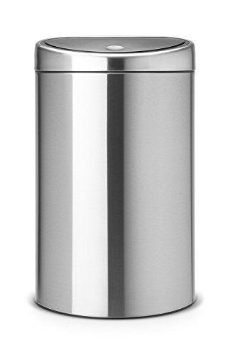 Brabantia Touch Bin Twin Recycling With Plastic Bucke S