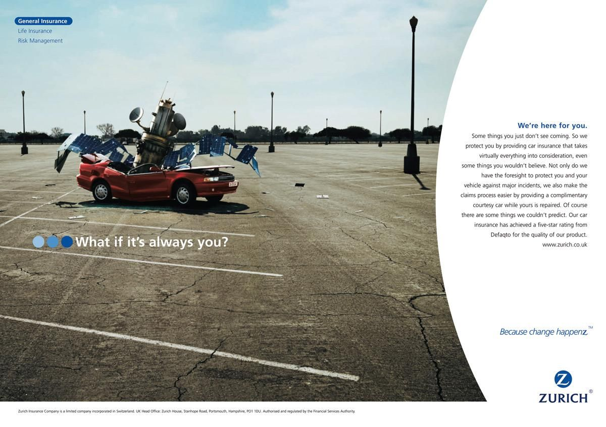 Advertisement By Publicis Switzerland Insurance Ads Insurance