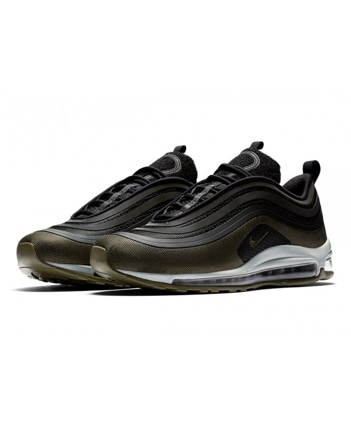 Nike Sportswear AIR MAX 97 - Trainers - medium olive/sequoia/black/white EJy6g6Y7Ln